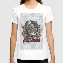 League of Legends KATARINA graffiti style T-shirt