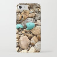 egg iPhone & iPod Cases featuring Egg by Mylittleradical