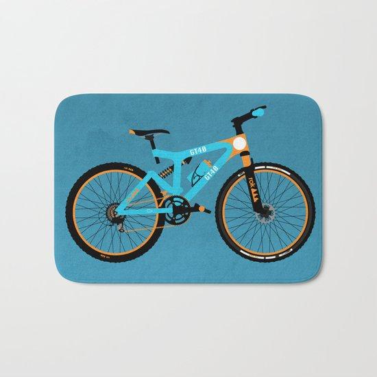 Mountain Bike Bath Mat