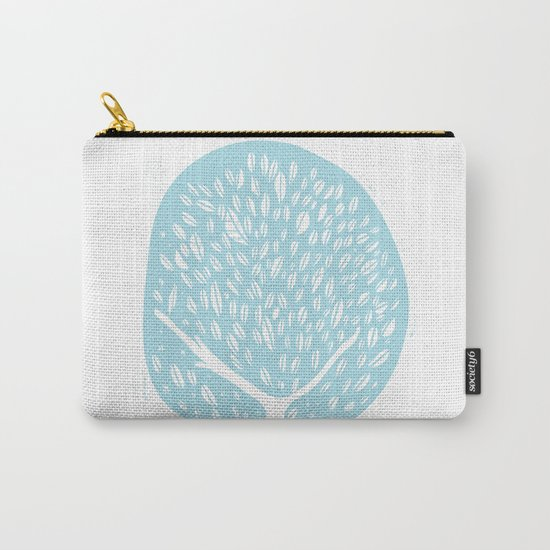 Tree of life - baby blue Carry-All Pouch