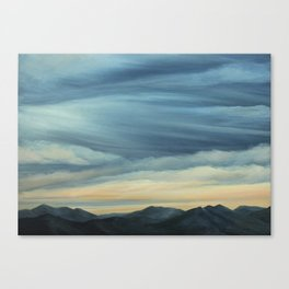 View from Hamburg Mountain Canvas Print