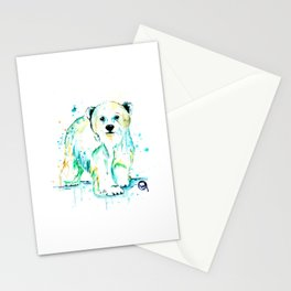 Polar Bear Baby Stationery Cards
