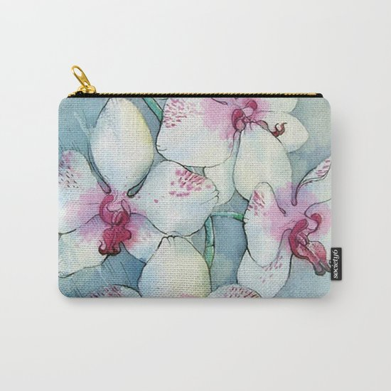 Orchids 01 Carry-All Pouch