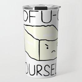 Tofu-ck yourself! Travel Mug