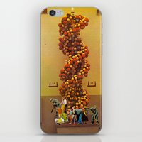 dna iPhone & iPod Skins featuring DNA  by Monster Rally / Ted Feighan