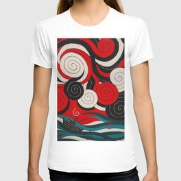 Stormy Crossing to Lisianski T-shirt