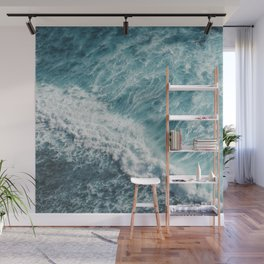 Saltwater Feelings Ocean Surf Wall Mural