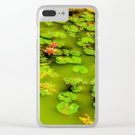 Lily Was Here Clear iPhone Case
