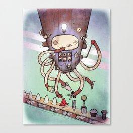 Self Made Robot Canvas Print