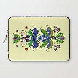 Folklore Flower tapestry Laptop Sleeve