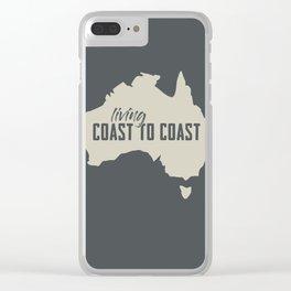 Coast to coast Clear iPhone Case