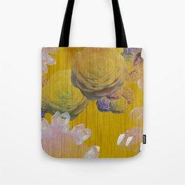 Crystal Camellia  Tote Bag