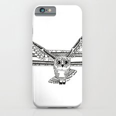 Owl fly you through the night iPhone 6s Slim Case