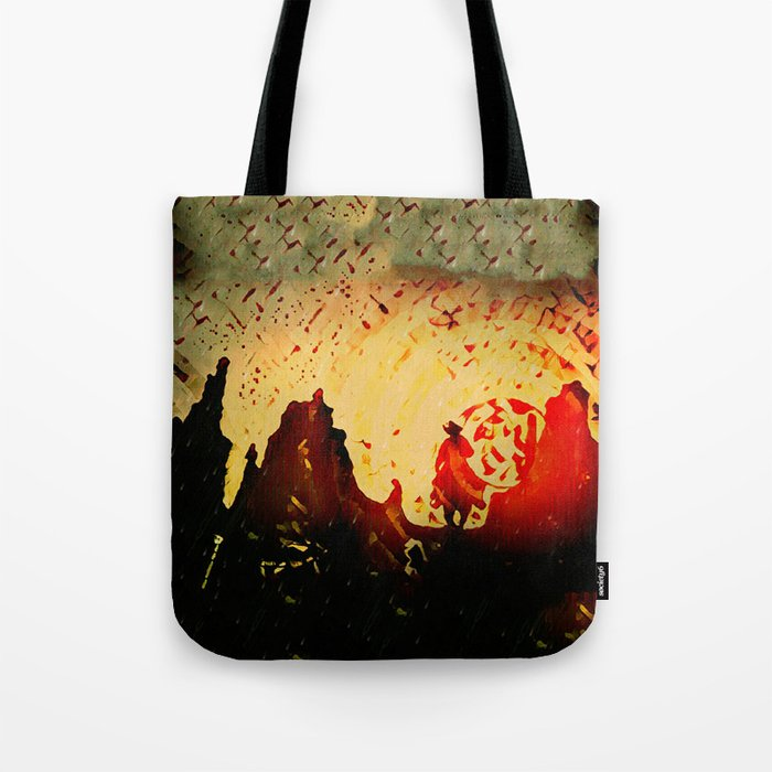 Sundowner Tote Bag