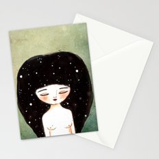 I am the Cosmos Stationery Cards