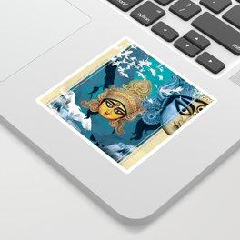 Durga Sticker
