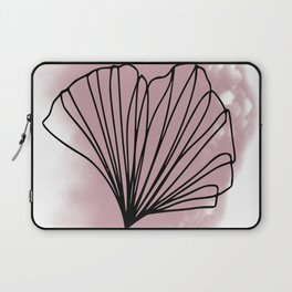 Blush Ginkgo Laptop Sleeve