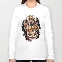 haikyuu Long Sleeve T-shirts featuring haikyuu!!: crows by Daniela Viçoso