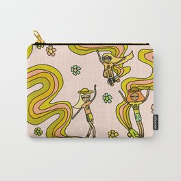 girl gang // dogtown and z girls // skateboard girl power by surfy birdy Carry-All Pouch