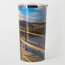 Padarn Lake Footbridge Travel Mug