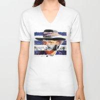 van V-neck T-shirts featuring Van Eastwood by Luigi Tarini