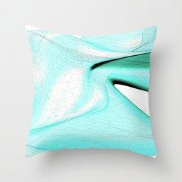 Curvature & Nodes Throw Pillow