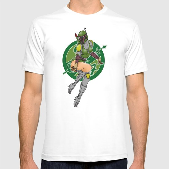 Star Wars Fett pinup T-shirt