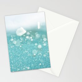 Undersea bubbles Stationery Cards