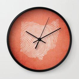 OH-IDentity Wall Clock