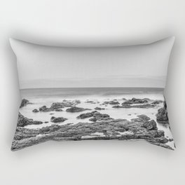 Monochrome Landscape Rectangular Pillow