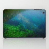 underwater iPad Cases featuring underwater by habish