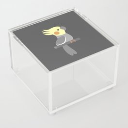 Cute cockatiel Acrylic Box