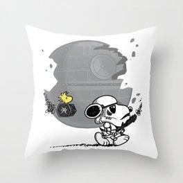 Snooptrooper Throw Pillow