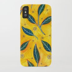 connected to nature Slim Case iPhone X
