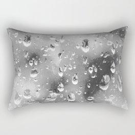 silver drop Rectangular Pillow