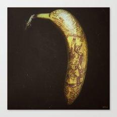 Thor (on a banana) Canvas Print