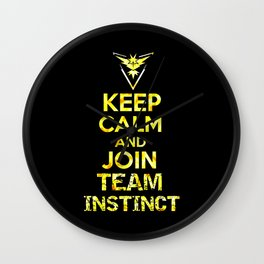 Team Instinct Wall Clock