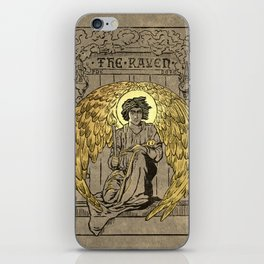 The Raven. 1884 edition cover iPhone Skin