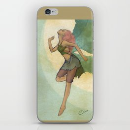 A Curious Fairy iPhone Skin