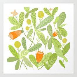 Bright and Green Art Print
