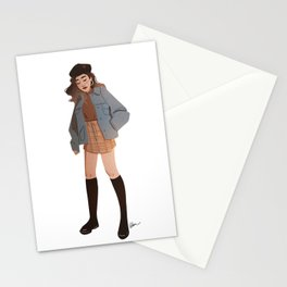 Miss October Stationery Cards