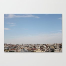 madrid skyline Canvas Print