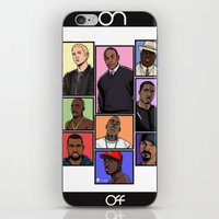 hiphop iPhone & iPod Skins featuring HipHop Legends by Akyanyme