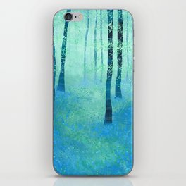 Bluebells, Challock iPhone Skin