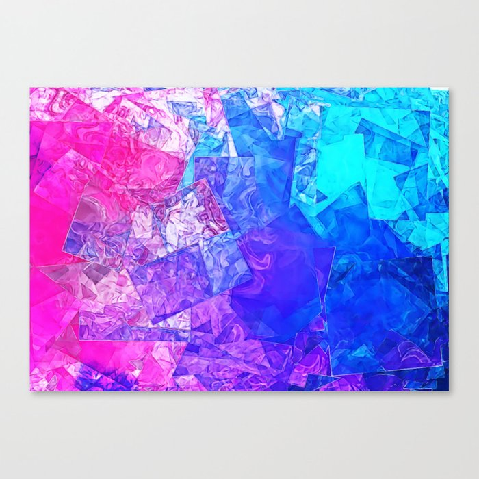 Textured Paper Overlay Canvas Print