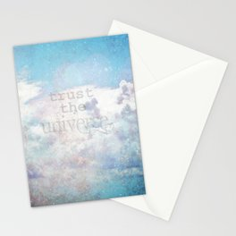 Trust the Universe III Stationery Cards