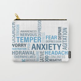 Anxiety 4 Carry-All Pouch