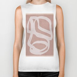 Abstract Flow II Biker Tank