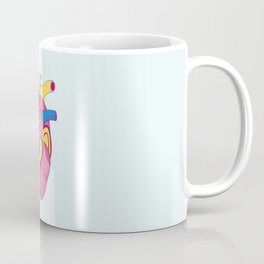 Yellow Submarine Heart Coffee Mug