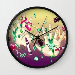 Gérmenes 2015 Wall Clock